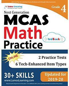 MCAS Practice tedBook® - Grade 4 Math, Teacher Copy