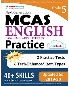 MCAS Practice tedBook® - Grade 5 ELA, Teacher Copy