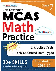 MCAS Practice tedBook® - Grade 7 Math, Teacher Copy