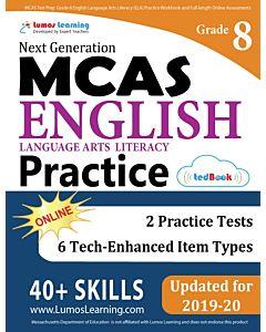 MCAS Practice tedBook® - Grade 8 ELA, Teacher Copy