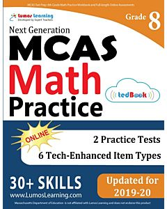 MCAS Practice tedBook® - Grade 8 Math, Teacher Copy