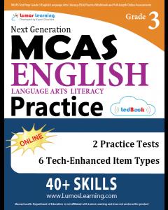 MCAS Practice tedBook® - Grade 3 ELA, Teacher Copy