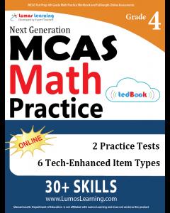 MCAS Practice tedBook® - Grade 4 Math, Teacher Copy
