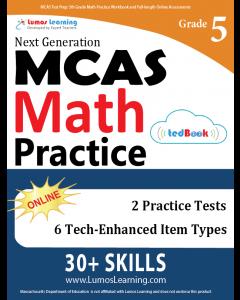 MCAS Practice tedBook® - Grade 5 Math, Teacher Copy