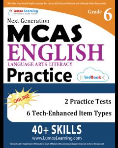 MCAS Practice tedBook® - Grade 6 ELA, Teacher Copy