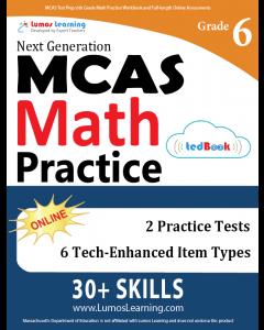 MCAS Practice tedBook® - Grade 6 Math, Teacher Copy