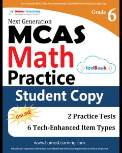 MCAS Practice tedBook® - Grade 6 Math, Student Copy