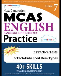 MCAS Practice tedBook® - Grade 7 ELA, Teacher Copy