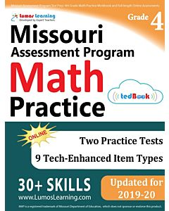 MOMAP Practice tedBook® - Grade 4 Math, Teacher Copy