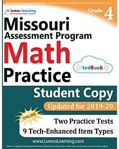 MOMAP Practice tedBook® - Grade 4 Math, Student Copy