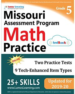MOMAP Practice tedBook® - Grade 5 Math, Teacher Copy