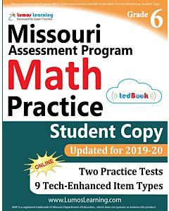 MOMAP Practice tedBook® - Grade 6 Math, Student Copy