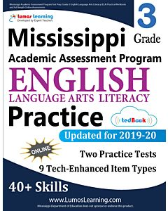 Mississippi Academic Assessment Program (MAAP) Practice tedBook® - Grade 3 ELA, Teacher Copy