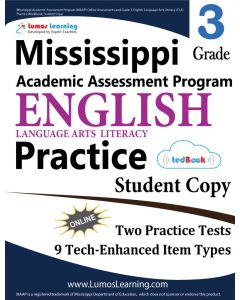 Mississippi Academic Assessment Program (MAAP) Practice tedBook® - Grade 3 ELA, Student Copy