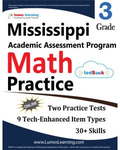 Mississippi Academic Assessment Program (MAAP) Practice tedBook® - Grade 3 Math, Teacher Copy