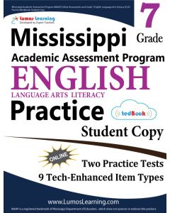 Mississippi Academic Assessment Program (MAAP) Practice tedBook® - Grade 7 ELA, Student Copy