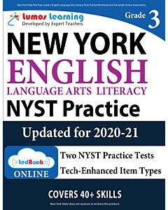 NYST Practice tedBook® - Grade 3 ELA, Teacher Copy