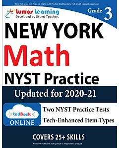 NYST Practice tedBook® - Grade 3 Math, Teacher Copy