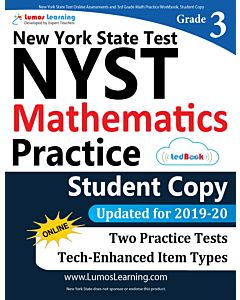 NYST Practice tedBook® - Grade 3 Math, Student Copy