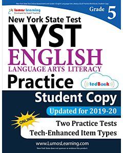 NYST Practice tedBook® - Grade 5 ELA, Student Copy