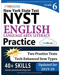 NYST Practice tedBook® - Grade 6 ELA, Teacher Copy