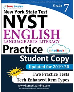 NYST Practice tedBook® - Grade 7 ELA, Student Copy