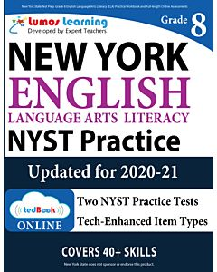 NYST Practice tedBook® - Grade 8 ELA, Teacher Copy