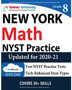NYST Practice tedBook® - Grade 8 Math, Teacher Copy