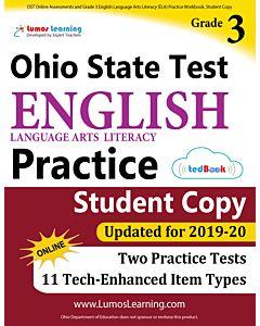 OST Practice tedBook® - Grade 3 ELA, Student Copy