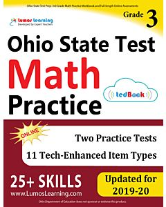 OST Practice tedBook® - Grade 3 Math, Teacher Copy