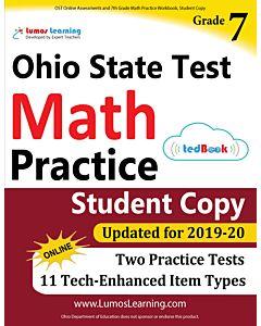 OST Practice tedBook® - Grade 7 Math, Student Copy