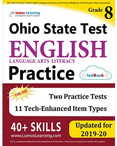 OST Practice tedBook® - Grade 8 ELA, Teacher Copy