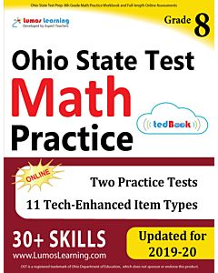 OST Practice tedBook® - Grade 8 Math, Teacher Copy