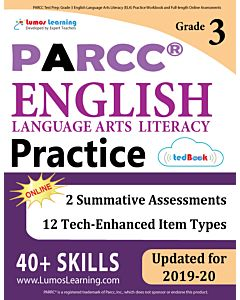 PARCC Practice tedBook® - Grade 3 ELA, Teacher Copy