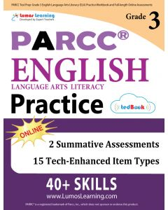 PARCC Practice tedBook® - Grade 3 ELA, Teacher Copy