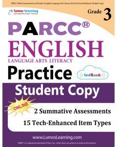 PARCC Practice tedBook® - Grade 3 ELA, Student Copy