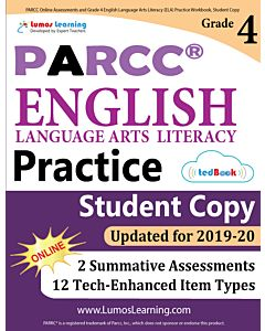 PARCC Practice tedBook® - Grade 4 ELA, Student Copy