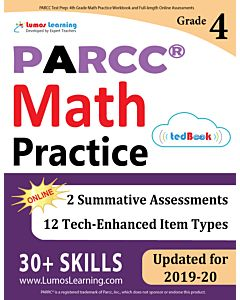 PARCC Practice tedBook® - Grade 4 Math, Teacher Copy