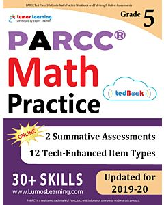 PARCC Practice tedBook® - Grade 5 Math, Teacher Copy