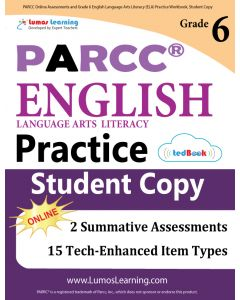 PARCC Practice tedBook® - Grade 6 ELA, Student Copy