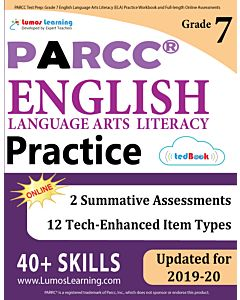 PARCC Practice tedBook® - Grade 7 ELA, Teacher Copy