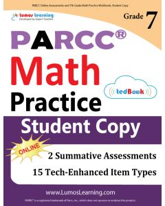 PARCC Practice tedBook® - Grade 7 Math, Student Copy