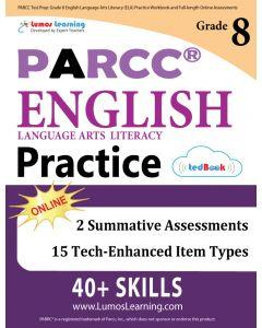 PARCC Practice tedBook® - Grade 8 ELA, Teacher Copy