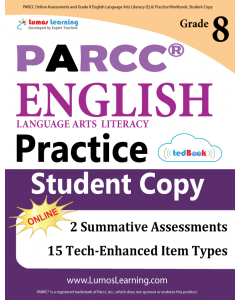 PARCC Practice tedBook® - Grade 8 ELA, Student Copy