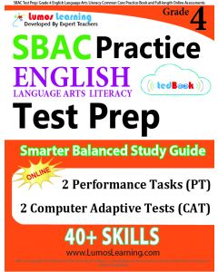 SBAC Practice tedBook® - Grade 4 ELA, Teacher Copy
