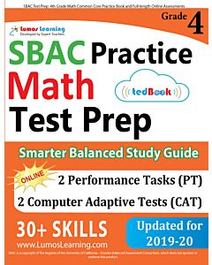 SBAC Practice tedBook® - Grade 4 Math, Teacher Copy