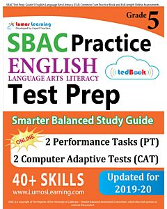 SBAC Practice tedBook® - Grade 5 ELA, Teacher Copy