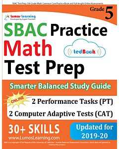 SBAC Practice tedBook® - Grade 5 Math, Teacher Copy