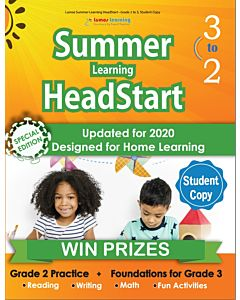 Lumos Summer Learning HeadStart Grade 2 to 3, Student Copy