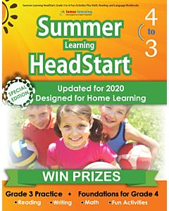 Lumos Summer Learning HeadStart Grade 3 to 4, Teacher Copy